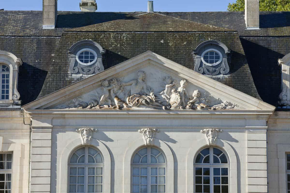 Pavillon central dtail_chateau_paris