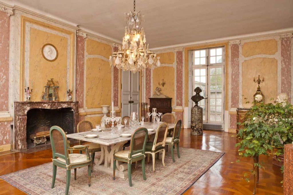 Salle  manger_chateau_paris