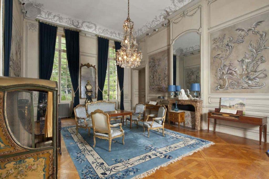 Salon bleu_chateau_paris