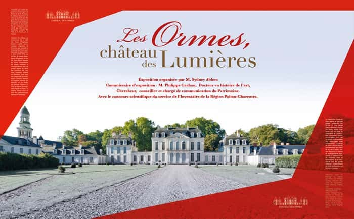 Exposition Les Ormes, château des Lumières