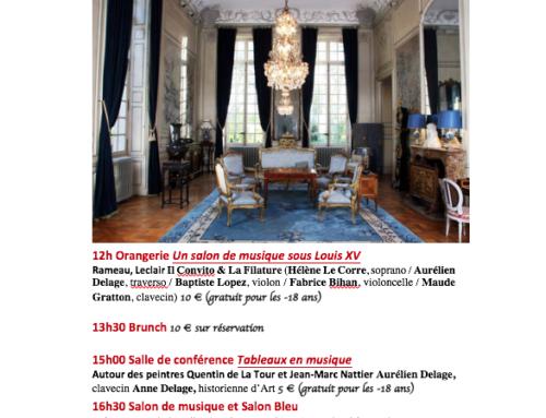 Concert baroque le dimanche 8 octobre