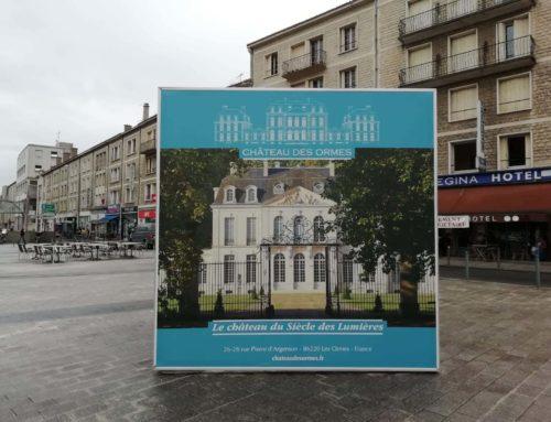 Cube à la gare de Poitiers